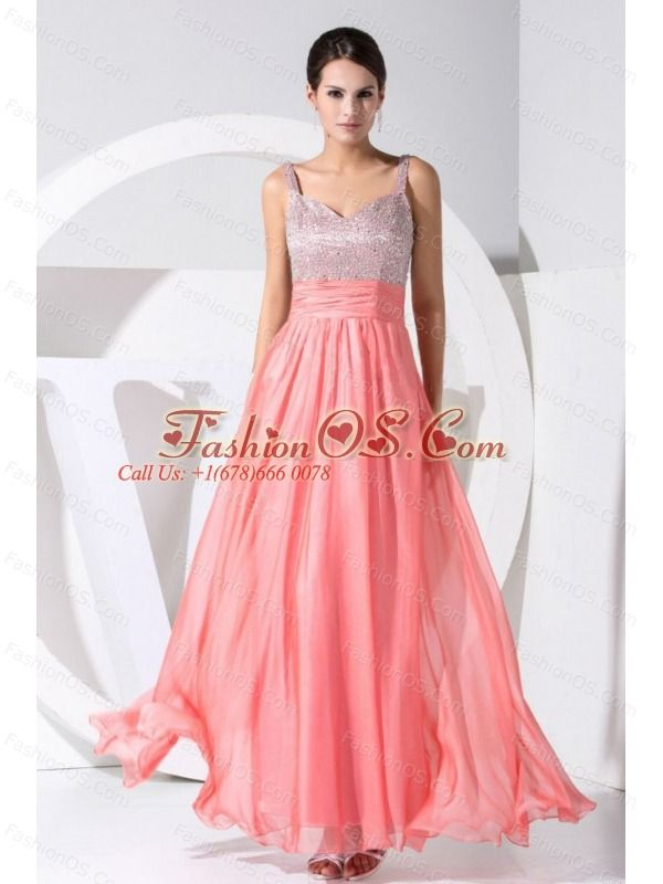 The 21 best 2013 Customize Online Prom Dress with Straps images on ...
