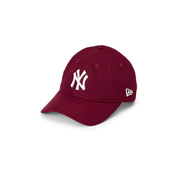 New Era New York Yankees cap (€24) ❤ liked on Polyvore featuring accessories, hats, ny yankees cap, yankees cap, new era cap, 6 panel cap and cap hats