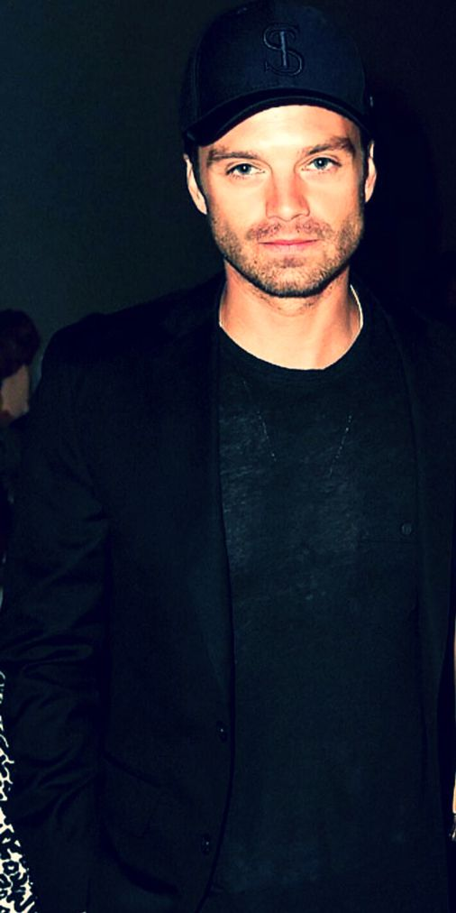 Sebastian Stan @ NYFW.  credit to owner of photo.
