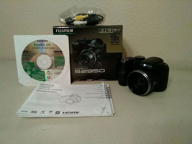 "Fugifilm finepix S2950 18x optical zoom camera 3.0""LCD 14 megapixels very nice #Fujifilm"