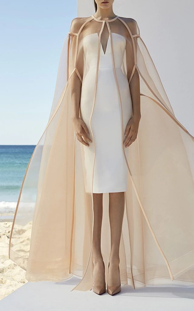 Langley Cape by ALEX PERRY for Preorder on Moda Operandi