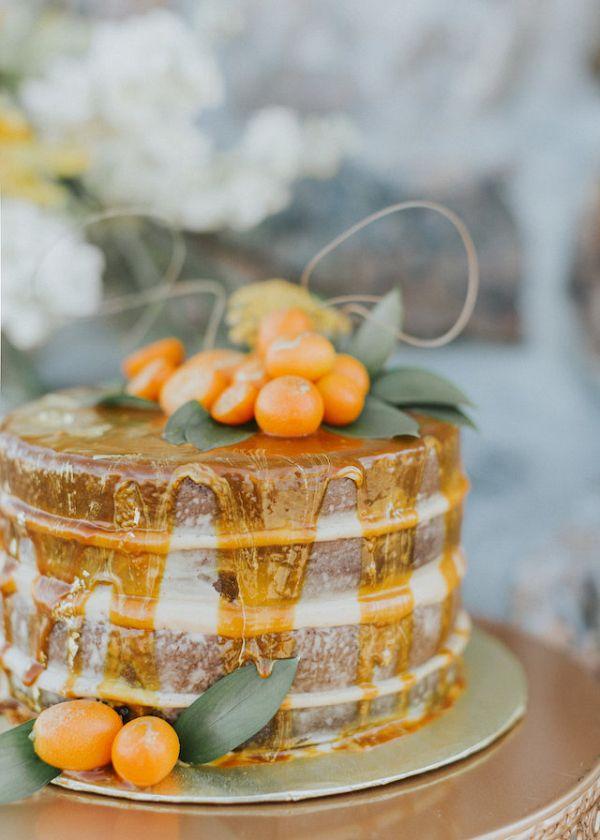 Naked cake    #weddings #weddingideas #aislesociety  #bohowedding