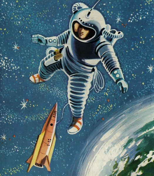 Vintage Sci Fi Illustrations Retro Science Fiction: 844 Best Images About Retro Future On Pinterest