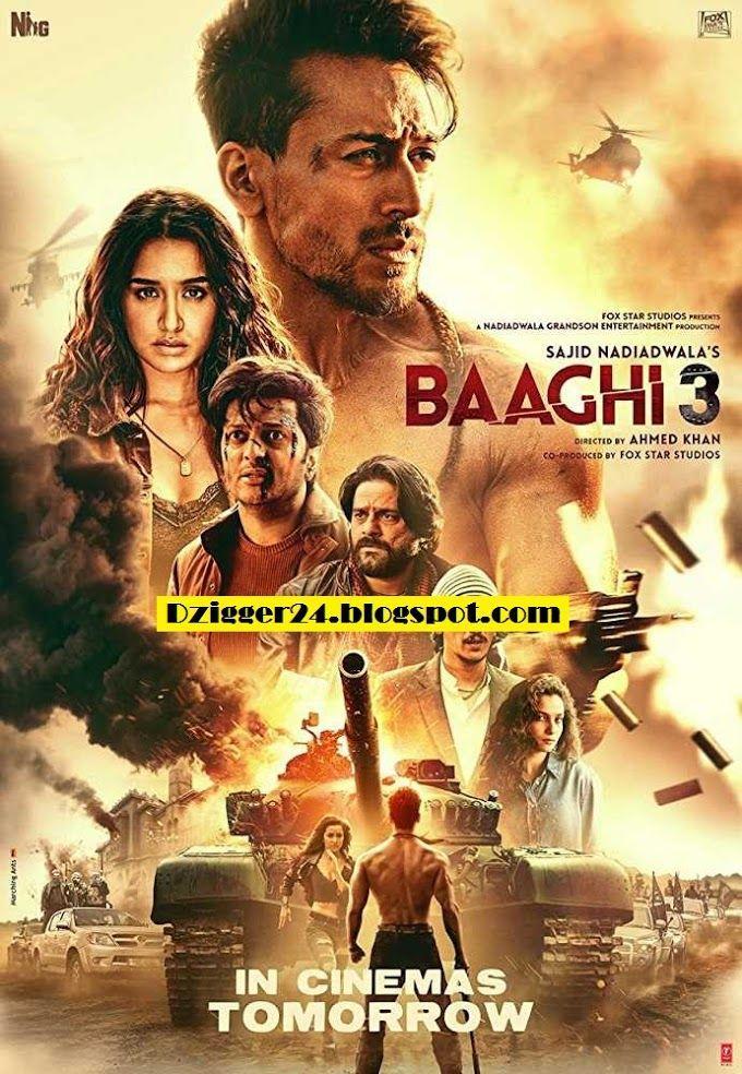 Pin By Entertainment On Baaghi 3 In 2020 Hindi Bollywood Movies Movies To Watch Hindi Hindi Movie Film