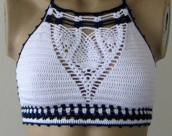 Crochet Beige Bikini Bustier Women Swimwear by formalhouse