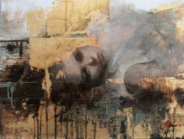 "Saatchi Art Artist Mara Light; Painting, """"Figure Sketch"""" #art"