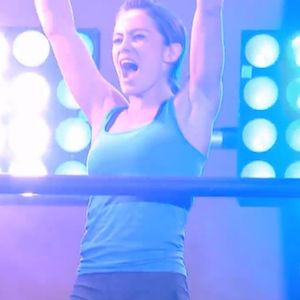 Kacy Catanzaro Becomes First Woman To Complete The 'American Ninja Warrior' Finals Obstacle Course