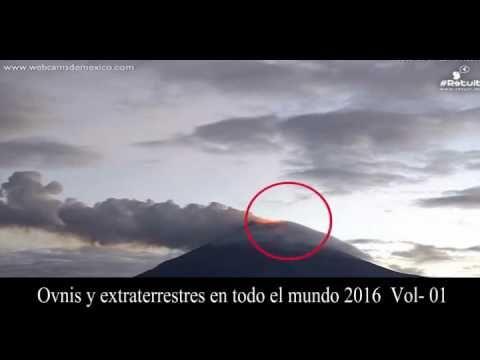 avistamiento de Ovnis 2016 en todo el mundo - YouTube