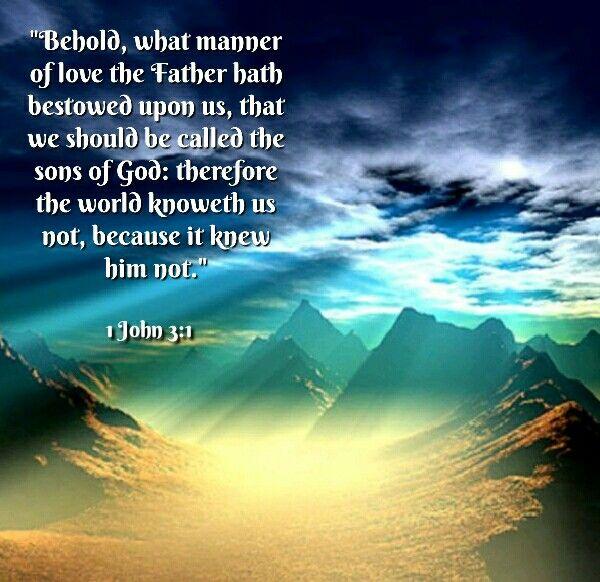 1 John 3 1 Kjv 1 John Word Of God New Testament