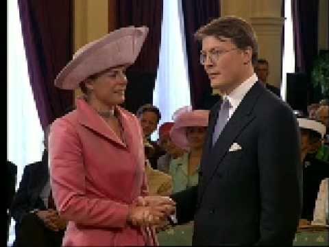 Civil Wedding Ceremony of Prince Constantijn of the Netherlands & Laurentien Brinkhorst - YouTube
