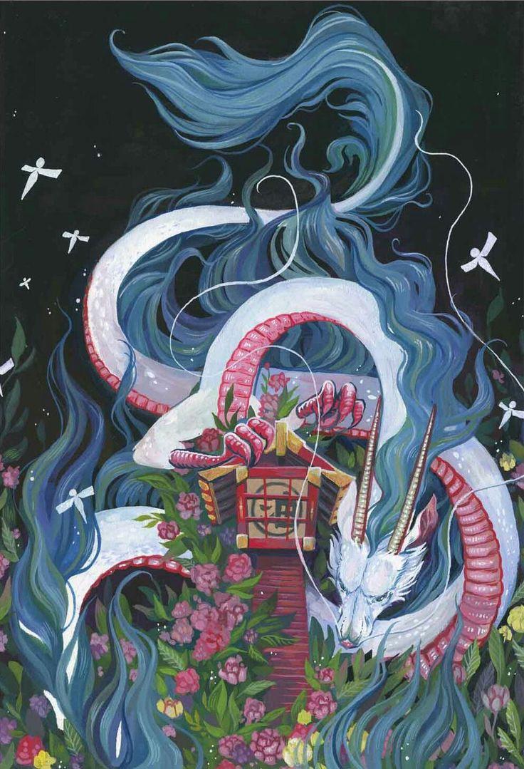 Spirited Away Dragon Haku