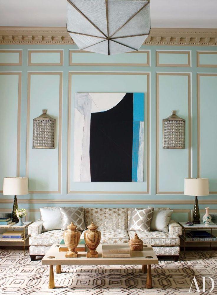 7 Astonishing Living Room Ideas By Steven Gambrel | Modern Sofas. Patterned Sofa. #modernsofas #patternedsofa #livingroomideas Read more: http://modernsofas.eu/2016/09/02/astonishing-living-room-ideas-steven-gambrel/