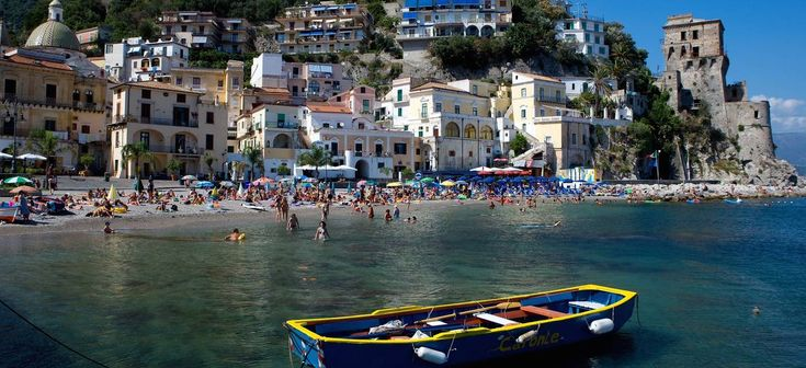 The beautiful village of #Cetara, #AmalfiCoast, #Italy