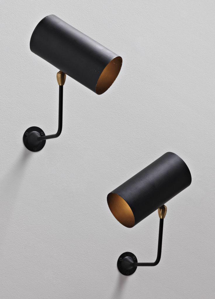 lifeonsundays: Serge Mouille, Tuyaux Wall Lightss for Atelier Serge Mouille, c.1955.