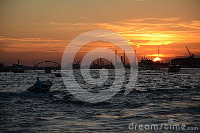 Sunset From Venice - Download From Over 40 Million High Quality Stock Photos, Images, Vectors. Sign up for FREE today. Image: 53710954