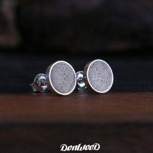 Wallnut wood and silver on DonWood.cz