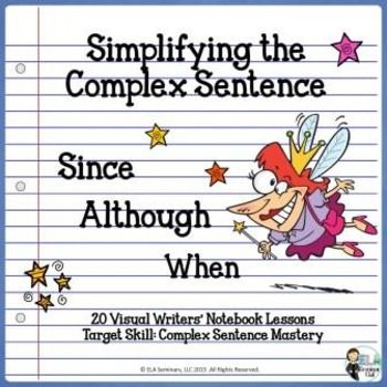 Just 3 subordinate conjunctions (SAW = Since, Although and When) are featured in this no-prep-required PowerPoint. Free write exercises for Narrative, Point of View and Opinion/Argument pieces make using and crafting complex sentences super-easy for students. $