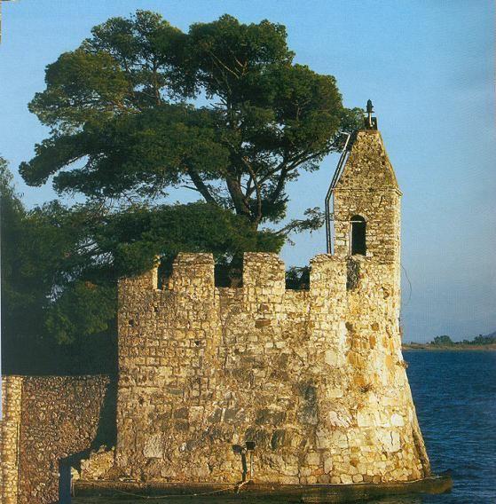 Lighthouse of Nafpaktos Aitonoakarnania region