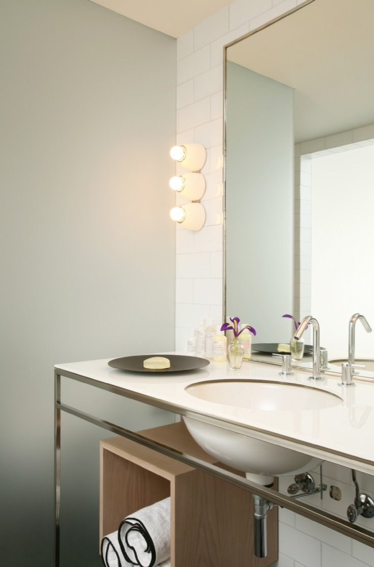 Poesis Design Exteriors And Interiors Hotel Ralph Pucci Vanity And Lights Bathrooms