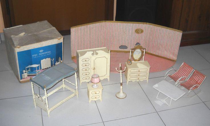 Vintage 1965s Serie Principessa Bedroom Suite