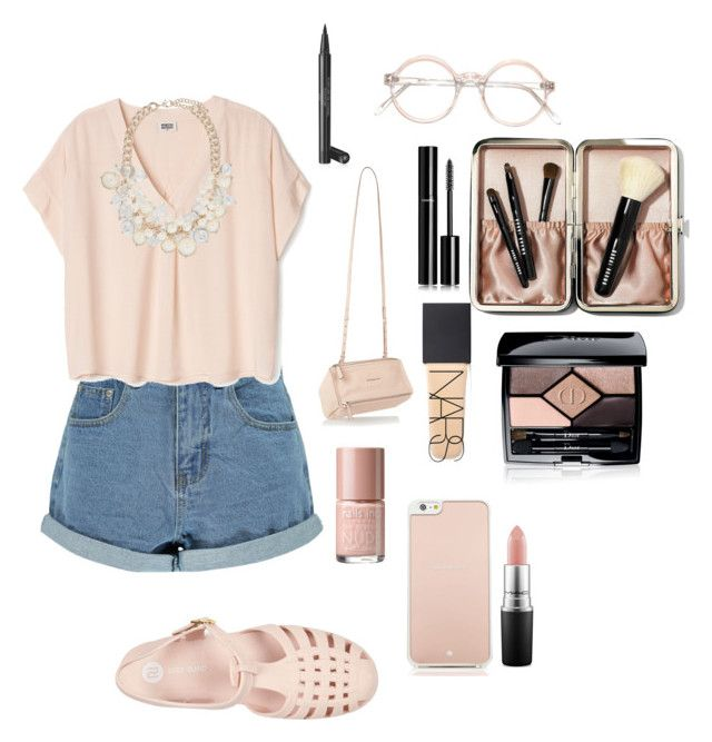 """""""Pink role model"""" by aliciahot ❤ liked on Polyvore featuring Boohoo, Forever New, Givenchy, Nails Inc., NARS Cosmetics, Kate Spade, River Island, MAC Cosmetics, Christian Dior and Bobbi Brown Cosmetics"""