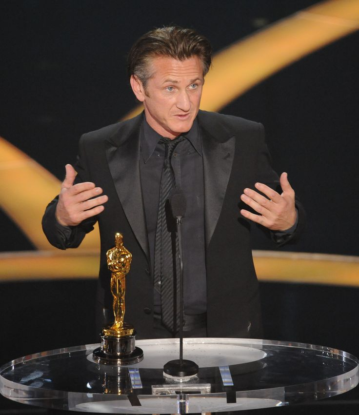 "Sean Penn - winner of the Best Actor Academy Award for his performance in ""Milk"" - February 22, 2009."