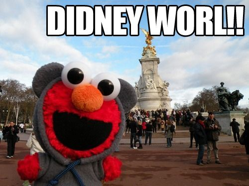 DIDNEY WORL!! This never fails to warm my heart! :)