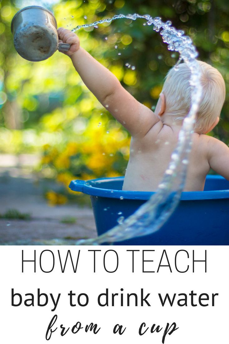 HOW TO TEACH baby to drink water from a cup; 4 easy steps to have your baby drinking from a cup in no time! guaranteed results!