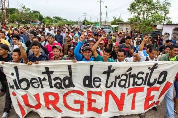 México: Confirman salida de Caravana Migrante desde Ixtepec, Oaxaca. Libre tránsito y respeto humanitario