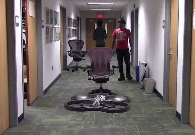Drone Uses AI and 11,500 Crashes to Learn How to Fly; Crashing into objects has taught this drone to fly autonomously, by learning what not to do