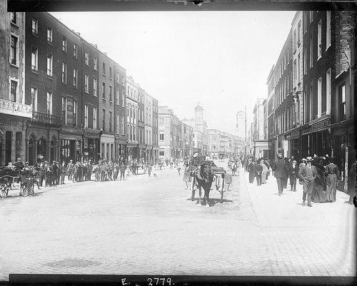 George's Street, Limerick: This photo was taken circa 1900 in Limerick (Ireland)