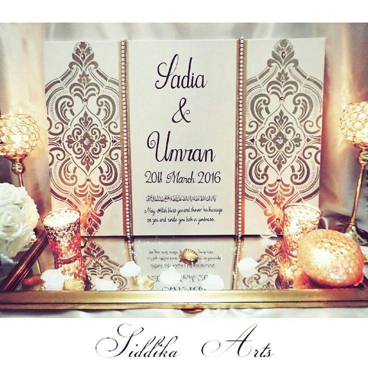 Wedding gift canvas decor arabic calligraphy pinterest for Arabic calligraphy decoration