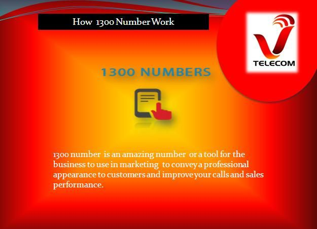 If you find answers to the question How 1300 number work so you can contact with VTELECOM and also know how phone words work. Visit us: https://www.vtelecom.com.au/1300-1800-phone-words/