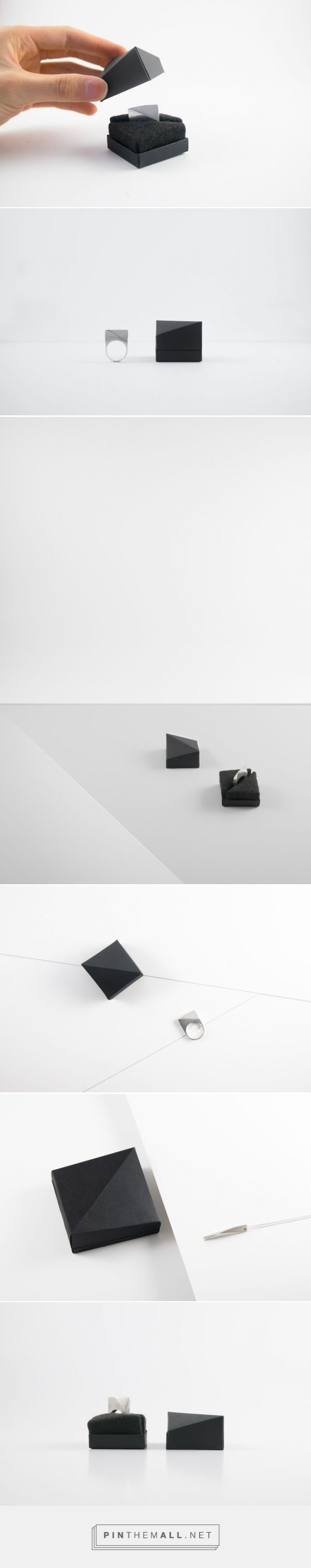 Grey Jewelry packaging designed by Andrew Zo (Canada) - http://www.packagingoftheworld.com/2016/03/grey-jewelry.html