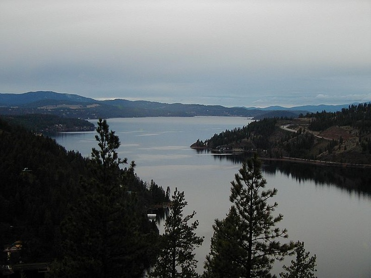Lake Coeur d'Alene in North Idaho: Spaces, Favorites Places, Favorite Places, Places We Ve, North Idaho, Lakes, 1000 Places, Heart D Alene
