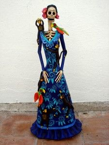 catrina azul