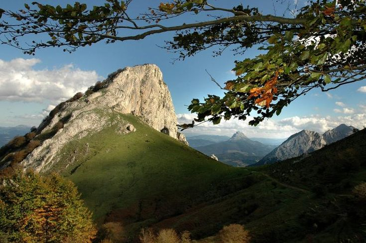 Mugarra, The Natural Park of Urkiola, Basque Country, Spain