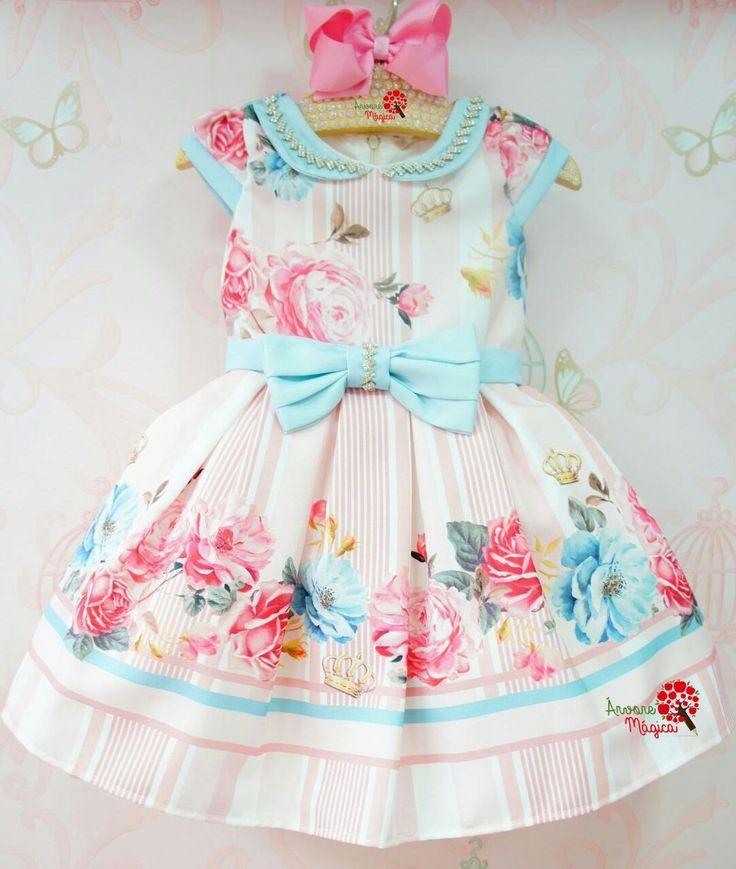 Vestido de Festa Infantil Jardim Encantado Petit Cherie