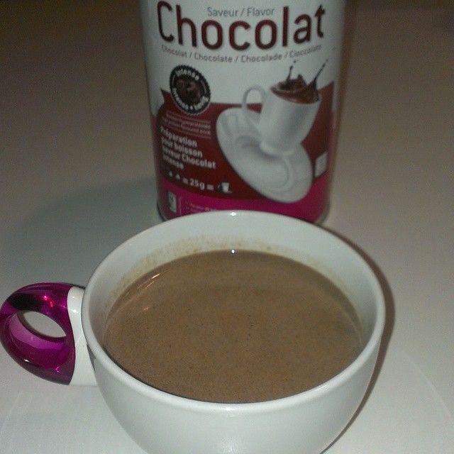 La Domenica.,.al cioccolato! Bevanda al cioccolato Mincidelice