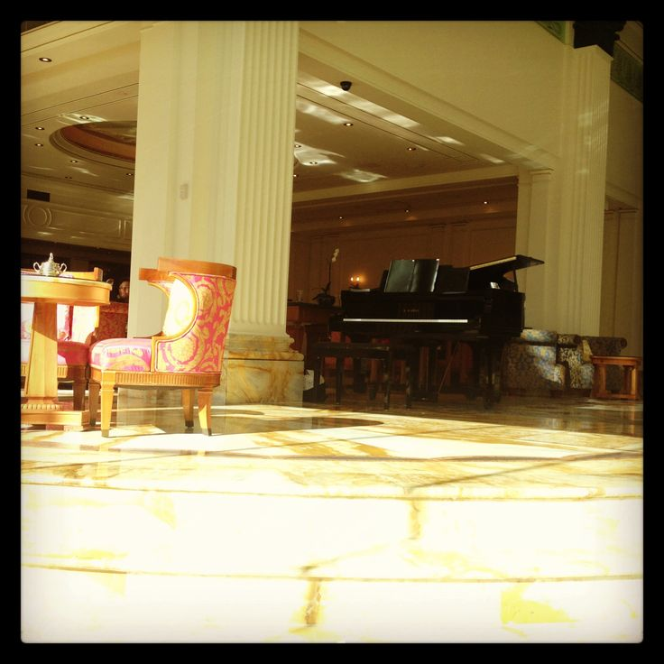 Playing at the Palazzo Versace