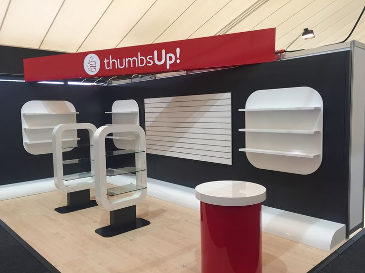 Check out this trade show stand with all items supplied and installed by O.M.A. Shopfittings