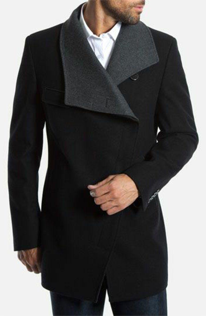 comment etre elagant avec un manteau homme zara noir