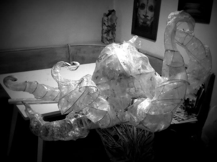 """""""Octopus"""", maschera, Roberta Bagni, 2013"""