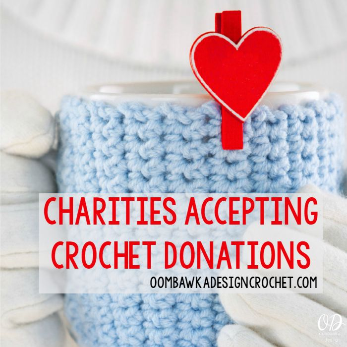 If you are interested in making crocheted items for Charity, here are some Charities you may wish to contact! This is the Charity Crochet Page!