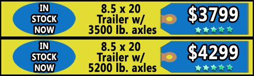 Trailers for Sale in VA - 8.5 X 20 Enclosed Trailers  - http://www.trailersnow.net/trailers-for-sale-in-va-85-x-20-enclosed-trailers.html
