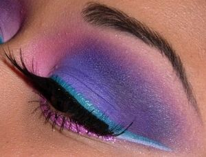 Turquoise And Pink Wedding Colors | Purple, pink and turquoise design by Queen of Blending by yvette