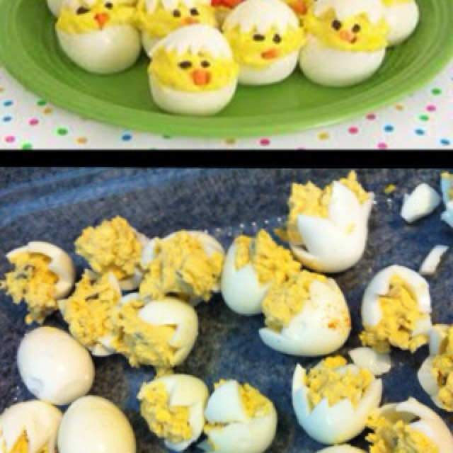 Nailed it! LolCookies Monsters, Funny Pics, Eggs Salad, Funny Pictures, Boiled Eggs, Nails It, Easter Eggs, Easter Food, Deviled Eggs