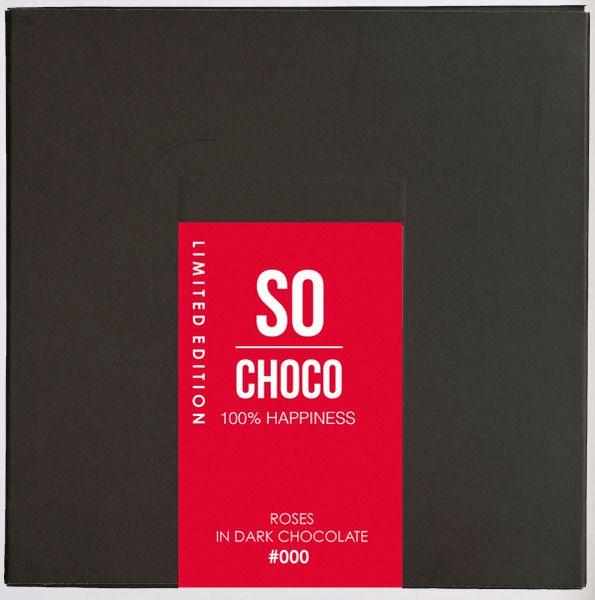 Odette Schoonenberg werd verliefd op de uitstekende kwaliteit van een mooi stuk chocolade van Sloveense afkomst. Niet lang daarna volgde er de samenwerking met de Sloveense chocolatier en met Thijs Willekes (tv-personality en beautycoach) en So Choco was geboren.