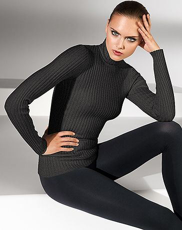 Wolford Online Shop > Merino Rib Pullover I have it in black.