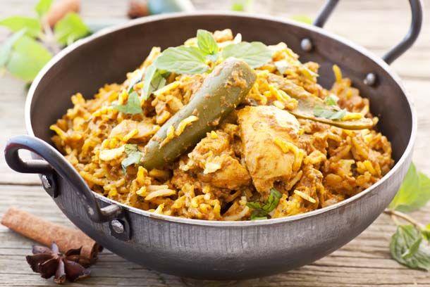 Chicken Biryani - Hot Indian Recipes